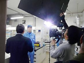 KNBテレビ取材(2)